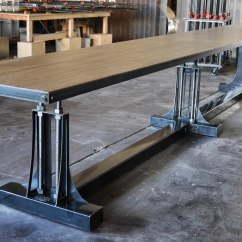 Kitchen And Bath Showroom Cabinet Wholesale Post Industrial Bar Table – Model #po5 Vintage ...