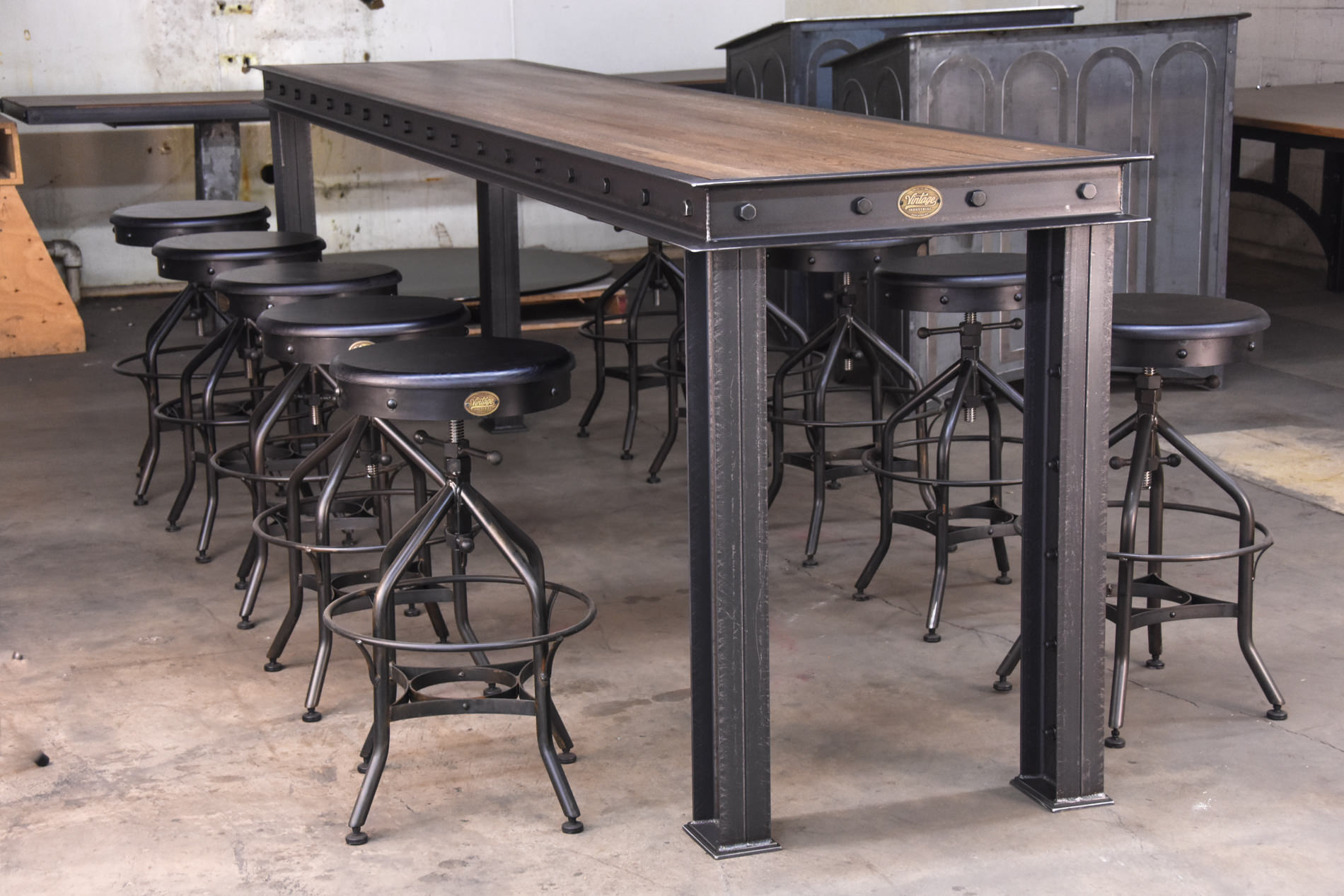 retro dining table chairs uk best executive office chair firehouse bar – model #fh9 vintage industrial furniture