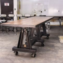 Kitchen Benches With Storage Aid K5ss Tilting Post Industrial Table – Model #po8 Vintage ...
