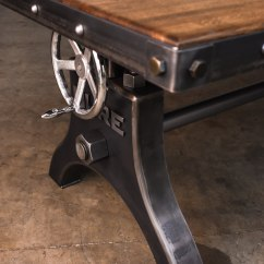 Casters For Office Chairs Bath Babies Hure Faux Crank Boxcar Top Desk – Model #hu64 Vintage Industrial Furniture