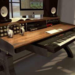 Kitchen Benches With Storage Ikea Sink Accessories Hure Recording Studio Keyboard Desk – Model #hu76 ...