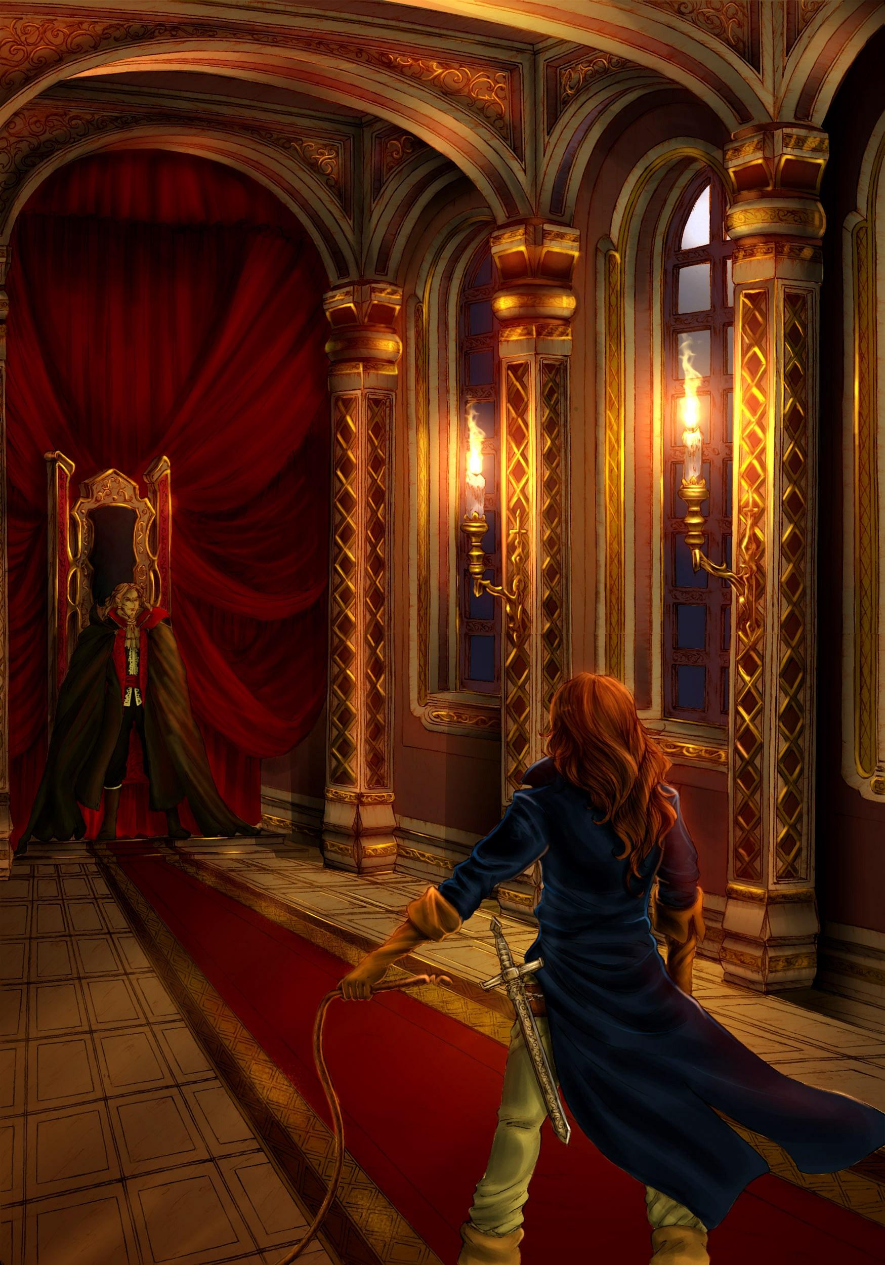 Castlevania Symphony Of The Night : castlevania, symphony, night, Retro, Night:, Castlevania:, Symphony