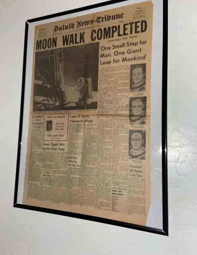 Newspaper July 21, 1969