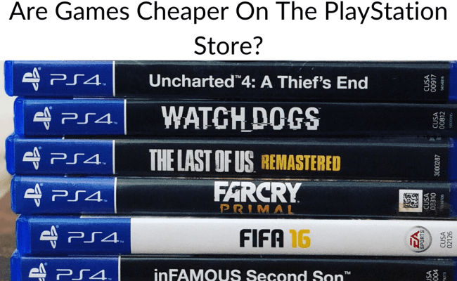 Are Games Cheaper On The Playstation Store Retro Only