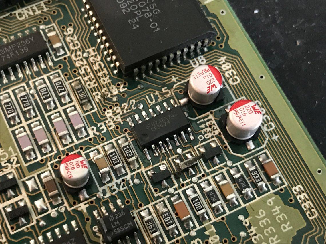 Amiga 600 Premium Recapping Service