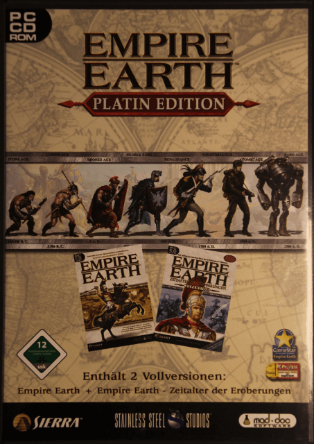 Empire Earth Mod : empire, earth, Empire, Earth, Platin, Edition, (Windows)