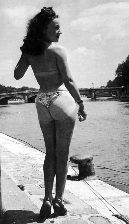 Micheline Bernardini And The First Bikini  Retrorambling