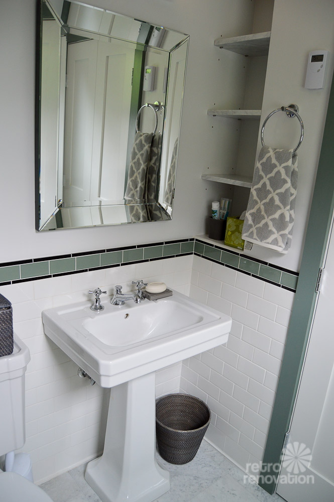 Amys 1930s bathroom remodel  classic and elegant  Retro Renovation