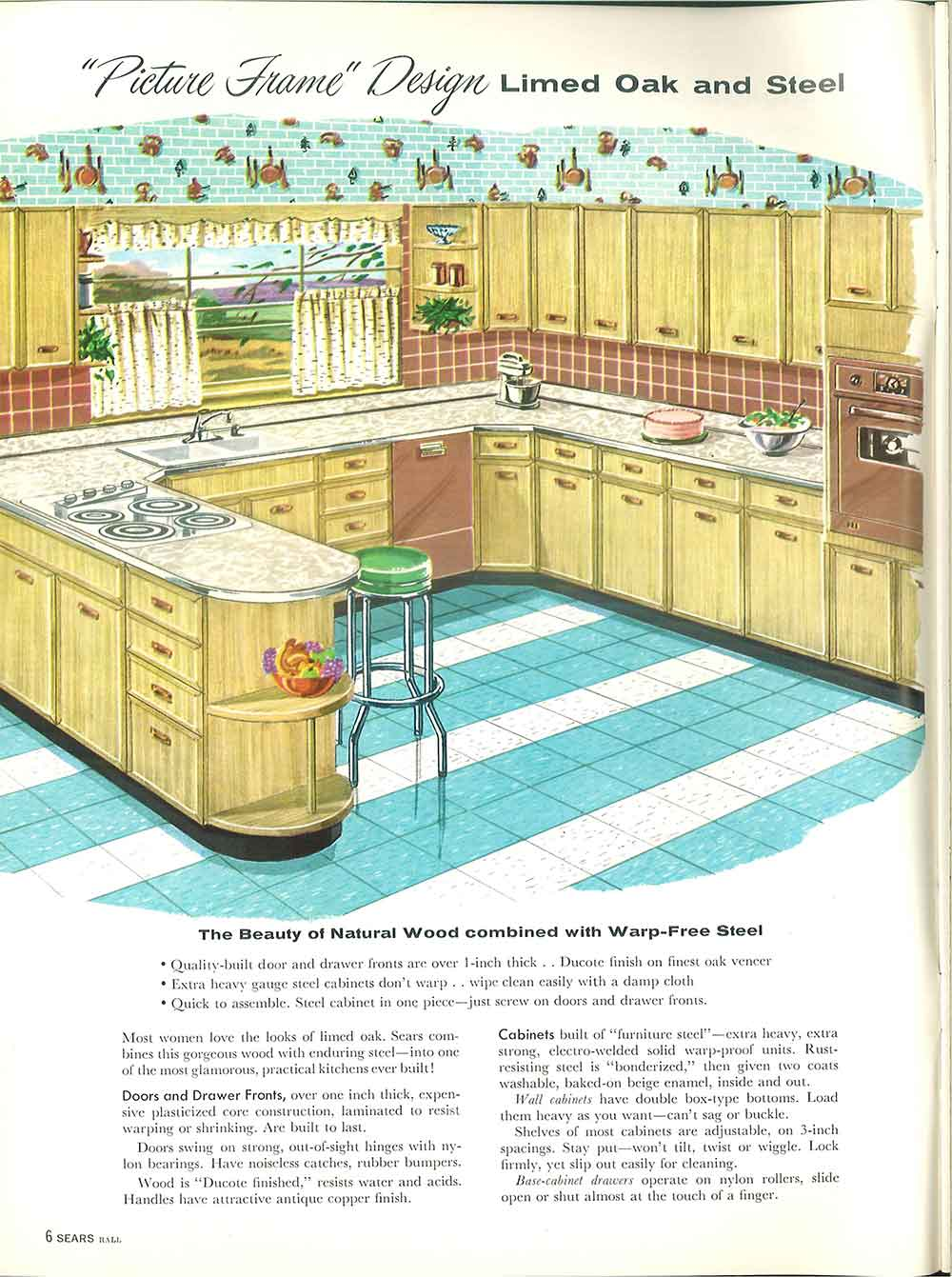 st charles steel kitchen cabinets ikea pantry 1958 sears and more - 32 page catalog ...
