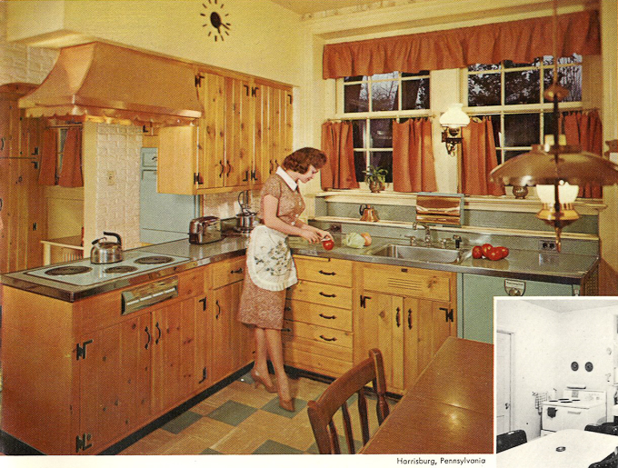 wood mode kitchens floral kitchen curtains wood-mode from 1961 - slide show of 15 photos ...