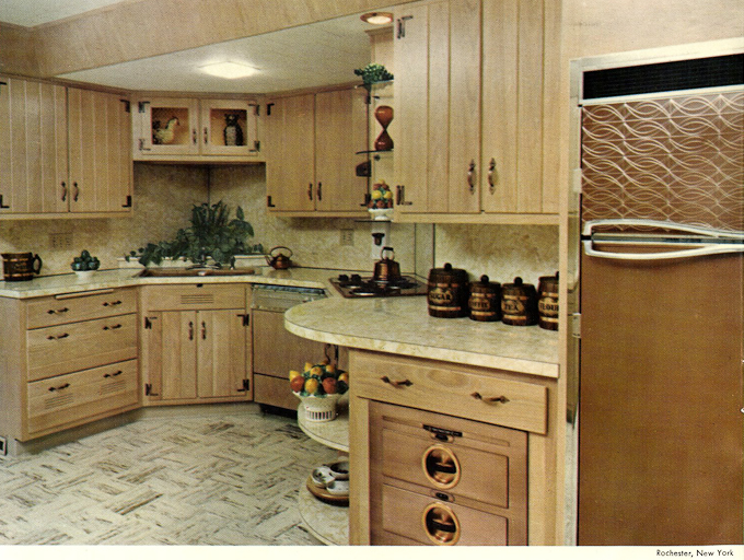wood mode kitchens wooden kitchen set from 1961 slide show of 15 photos retro enjoy the these are also great fun to scrutinize for design ideas and accessories