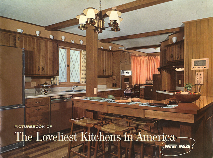 Wood Mode Kitchens From 1961 Slide Show Of 15 Photos Retro