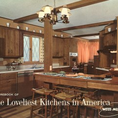Wood Mode Kitchen Cabinets Moen Hands Free Faucet Kitchens From 1961 Slide Show Of 15 Photos Retro Vintage