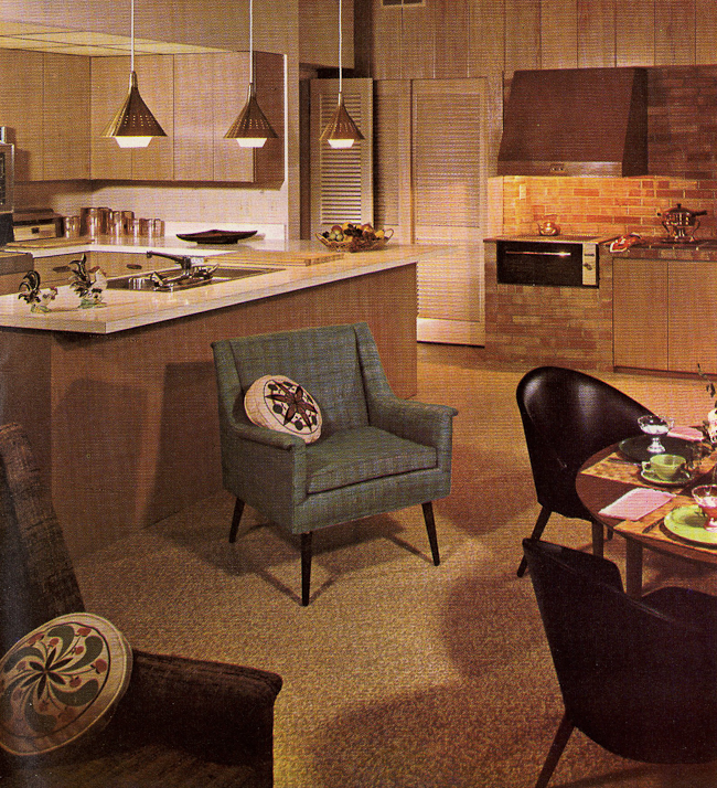 st charles steel kitchen cabinets havertys island decorating a 1960s - 21 photos with even more ...
