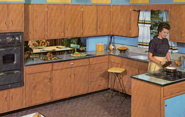 Decorating A 1960s Kitchen 21 Photos With Even More Ideas From 1962 Kitchens Retro Renovation