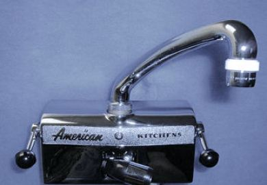 American Kitchen Faucets 1950 Styles