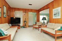 mid-century wood-paneling living room | People | Pinterest