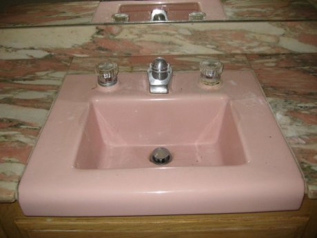 replacement parts for a bathroom faucet