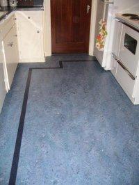 Linoleum floors and countertops brighten up Dave & Frances ...