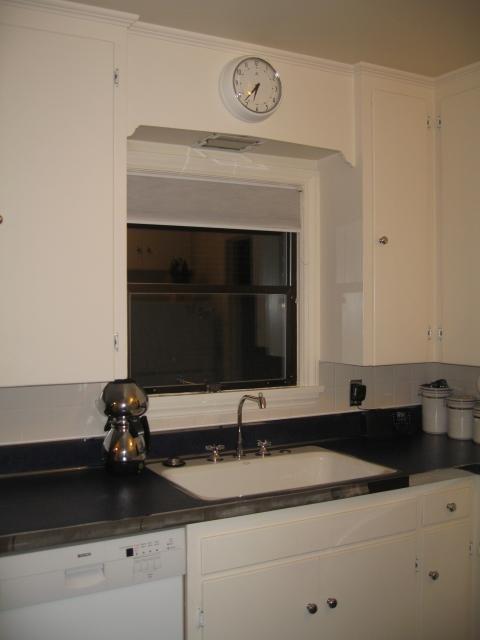 vintage kitchen sink glass tables round linoleum floors and countertops brighten up dave & frances ...