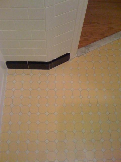 Octagon Floor Tile