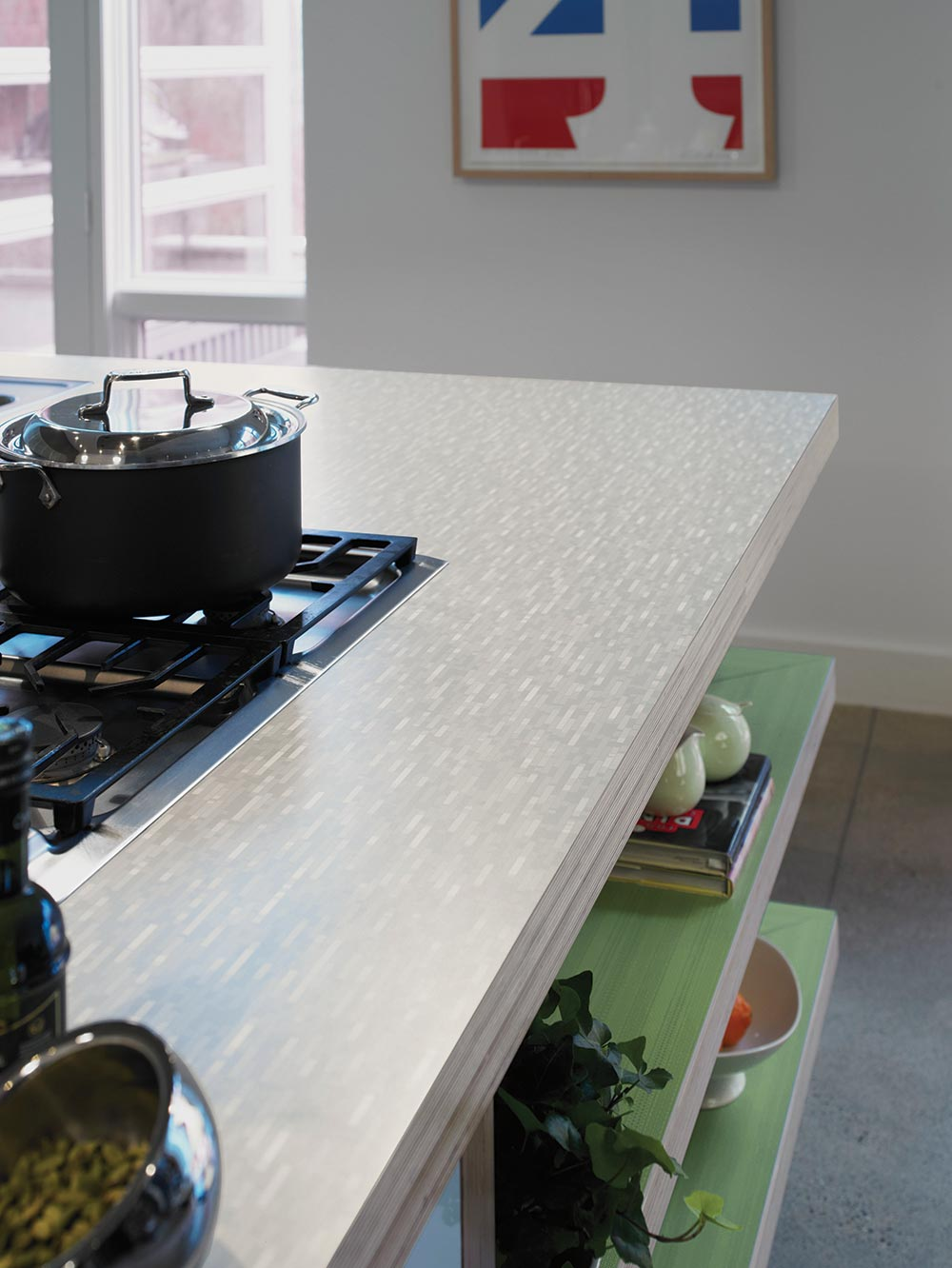 affordable kitchen countertops modern island lighting breaking news: formica's 100th anniversary designs include ...