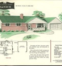brick ranch 1950 [ 1000 x 810 Pixel ]