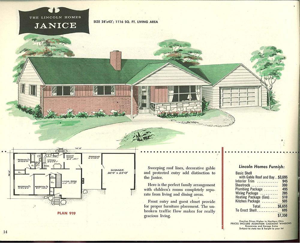 medium resolution of brick ranch 1950
