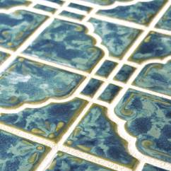 Home Depot Kitchens Compost Pail Kitchen Earthy And Colorful 1970s Style Wall Floor Tile ...