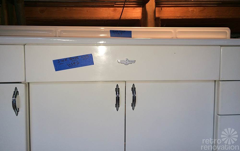 Boxed Up For 67 Years And Now Set Free Brand New 1948 Youngstown Kitchen Cabinets 1948 GE