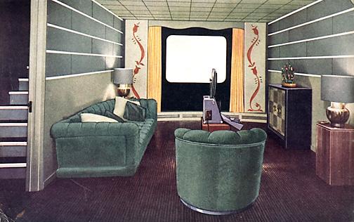 1940s chrome trim for linoleum  a 7page Chromedge