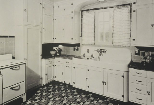 kitchen sinks with drainboard built in high quality cabinets 16 vintage kohler kitchens - and an important sink ...