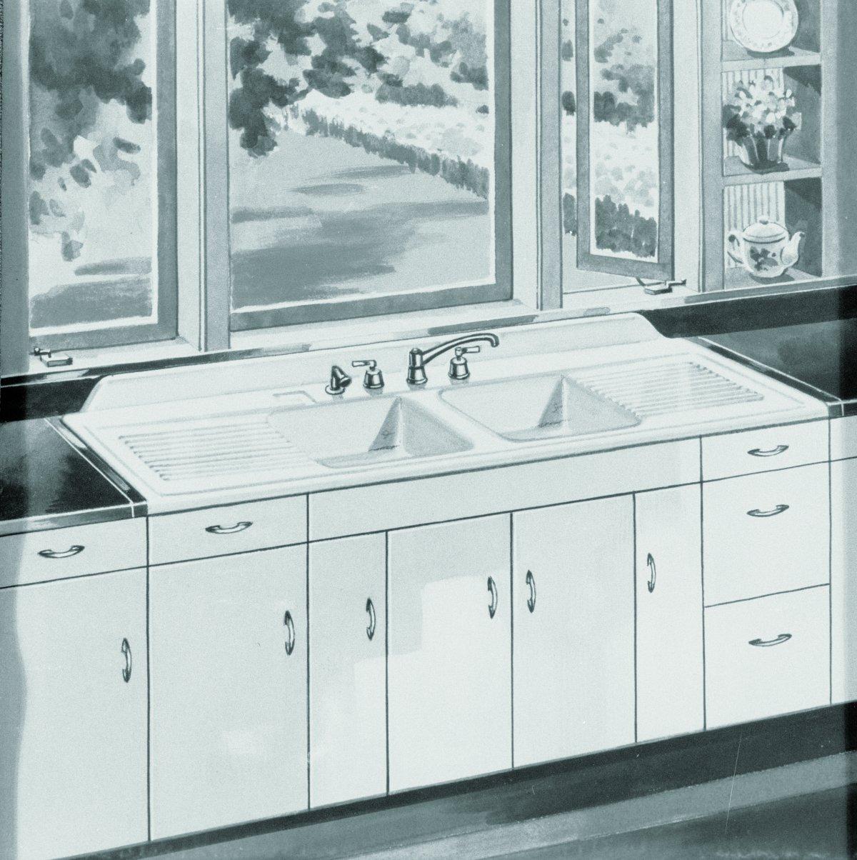 16 vintage kohler kitchens and an
