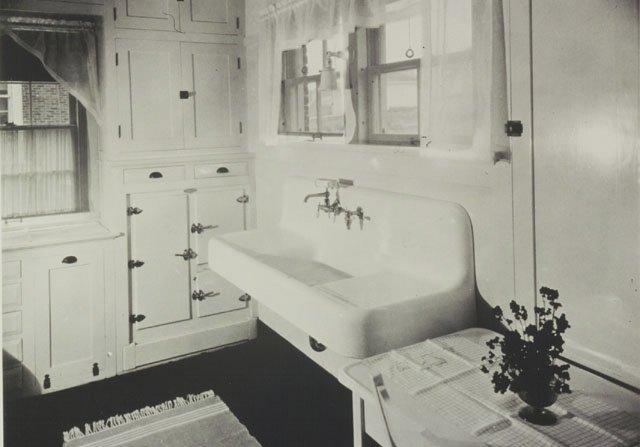 16 vintage Kohler kitchens  and an important kitchen sink