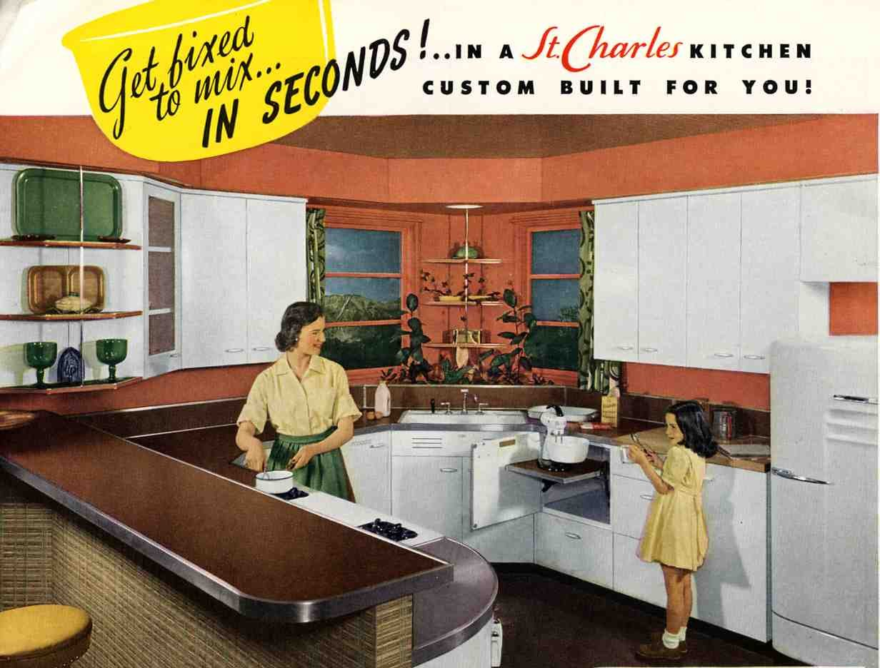 Was A Very Good Year Awesome Retro Kitchens And Cary