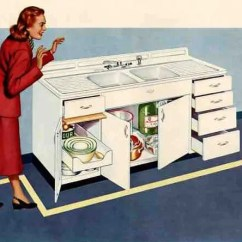 Sears Kitchen Remodel Seat Cushions Ikea Vintage Style Drainboard Sinks - Retro Renovation