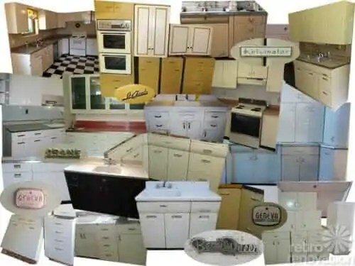 How and where to buy or sell vintage metal kitchen