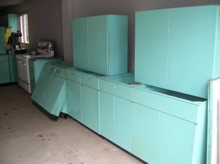 metal kitchen cabinet pan rack how much are my cabinets worth retro renovation for sale
