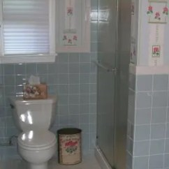 Ebay Kitchen Sinks Installing Backsplash Tile Sheets Scenes From 22 Blue Midcentury Bathrooms - Retro Renovation