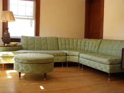 gorgeous mid century sectional sofa