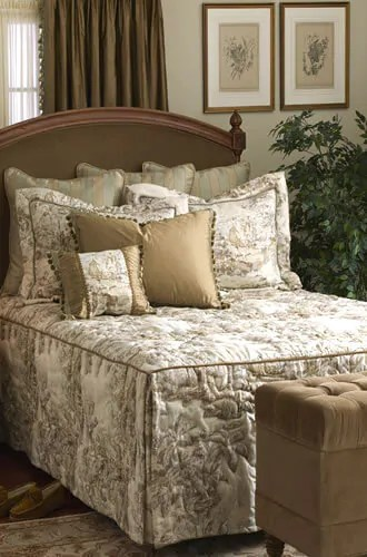Calico Corners custommade bedspread  Retro Renovation
