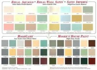 60 colors from Benjamin Moore's 1969 paint palette - Retro ...