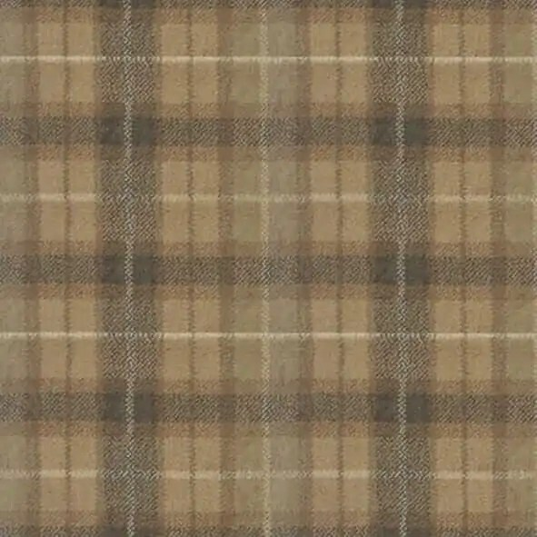 Natural Plaid Wool Carpet In Four Colors From Axminster