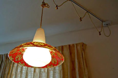 kitchen track lighting fixtures glass cabinet doors 1970s vintage and more in this 1974 time capsule ...