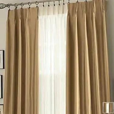 JCPenney Window Curtains Drapes Polyvore · J C Penney Supreme Pinch Pleat  Draperies Retro Renovation