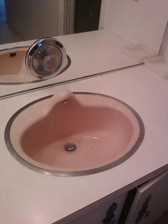 Strange 1962 bathroom sink  Retro Renovation
