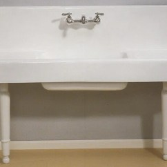 Vintage Kitchen Sink Aid 6qt 150 Drainboard Sinks Original Finish In Stock