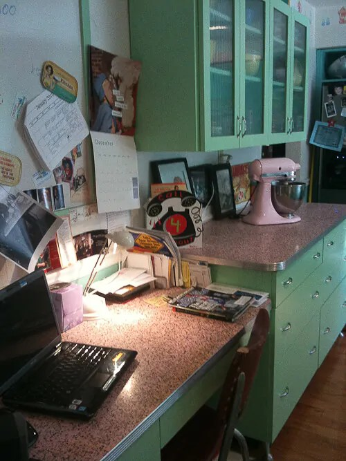 6 ideas from Karens retro kitchen remodel  including