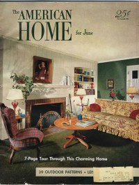 1950s interior design and decorating style - 7 major ...