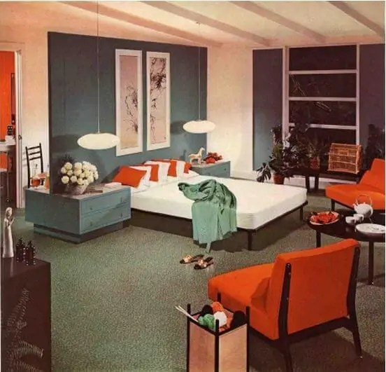 1950s Interior Design And Decorating Style 7 Major Trends Retro